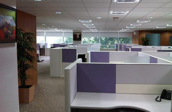Plug and Play Office Space in Bangalore, M G Road, 2500 sqft
