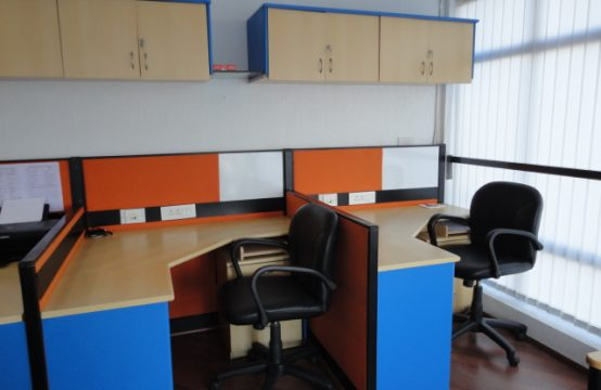 Furnished office space for rent in Bangalore 650 sqft MG Road